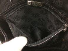 Photo11: Auth FENDI crocodile Leather Black Shoulder Bag Made In Italy 7K120520n (11)