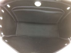 Photo11: Hermes Her bag 2 way Black & White Canvas Bag Without Lock 8C240040n (11)