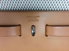 Photo13: Hermes Her bag 2 way Black & White Canvas Bag Without Lock 8C240040n (13)