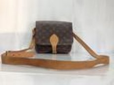 Photo3: Auth Louis Vuitton Monogram Cartouchiere Cross Body Shoulder Bag 8E080440t (3)
