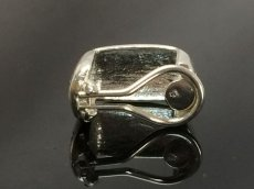 Photo6: Auth CHANEL Silver Tone  Clip-on Earring  8E120130m (6)