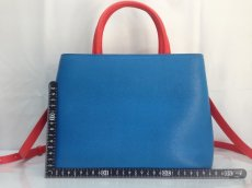 Photo3: Auth Fendi 2 Jours Monster eye 2 Way Shoulder Hand Bag 8E260110r (3)