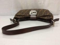 Photo4: Auth FENDI Zucca Pattern Logos Shoulder Bag 8G120130n (4)
