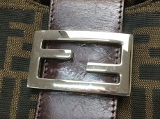 Photo6: Auth FENDI Zucca Pattern Logos Shoulder Bag 8G120130n (6)