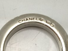 Photo5: Auth CHANEL 925 Silver Ring US size 6.5 3set 8i120140m (5)
