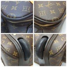 Photo4: Auth Louis Vuitton Monogram Trolley 45 Bosphore Travel Carry bag 8J220190n (4)