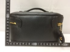 Photo2: Auth CHANEL caviar  skin Canvas Make up Cosmetic Porch Hand Bag 8L220200n (2)