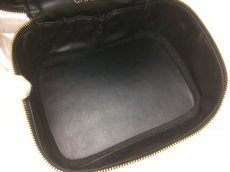 Photo8: Auth CHANEL caviar  skin Canvas Make up Cosmetic Porch Hand Bag 8L220200n (8)