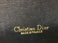 Photo7: Auth Christian Dior Trotter Pattern Cotton Canvas Bifold Wallet 9C060100m (7)