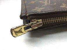 Photo7:  Auth Louis Vuitton Monogram Posh Document Clutch Bag Vintage 9C060110n (7)