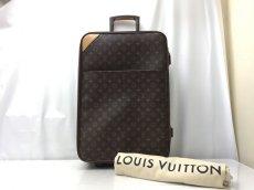 Photo1: LOUIS VUITTON Monogram Pegase 55 Travel Carry Bag 9D220210F (1)