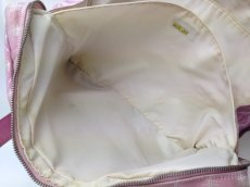 Photo10: Auth Chanel Pink Tote Bag Nylon 5L080480 (10)