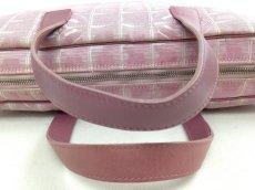 Photo7: Auth Chanel Pink Tote Bag Nylon 5L080480 (7)
