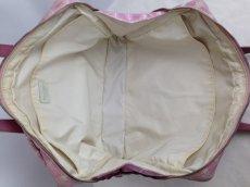 Photo9: Auth Chanel Pink Tote Bag Nylon 5L080480 (9)