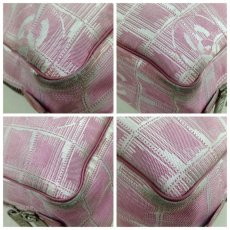 Photo5: Auth Chanel Pink Tote Bag Nylon 5L080480 (5)