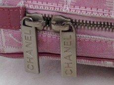 Photo4: Auth Chanel Pink Tote Bag Nylon 5L080480 (4)