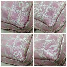 Photo6: Auth Chanel Pink Tote Bag Nylon 5L080480 (6)