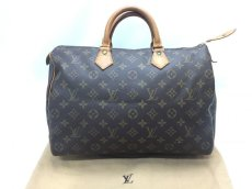 Photo1: Auth Louis Vuitton Monogram Speedy 35 Hand Bag 9G220040g (1)