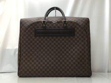 Photo1: Auth LOUIS VUITTON Damier Norita GM Travel Hand Bag 9E220060m (1)