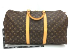 Photo2: Auth Louis Vuitton  Monogram Keepall 50 Travel  Hand Bag 9i170010g (2)