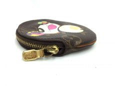 Photo4: Auth Louis Vuitton Monogram PANDA TAKASHI MURAKAMI Coin Case  9i100050n (4)