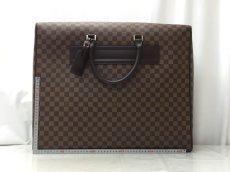Photo2: Auth LOUIS VUITTON Damier Norita GM Travel Hand Bag 9E220060m (2)