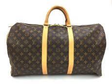 Photo1: Auth Louis Vuitton  Monogram Keepall 50 Travel  Hand Bag 9i170010g (1)