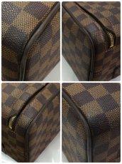 Photo5: Auth LOUIS VUITTON Damier Norita GM Travel Hand Bag 9E220060m (5)
