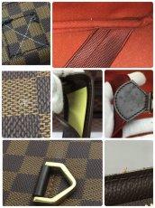 Photo11: Auth LOUIS VUITTON Damier Norita GM Travel Hand Bag 9E220060m (11)