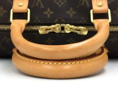 Photo6: Auth Louis Vuitton  Monogram Keepall 50 Travel  Hand Bag 9i170010g (6)