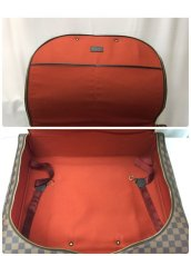 Photo8: Auth LOUIS VUITTON Damier Norita GM Travel Hand Bag 9E220060m (8)