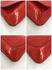 Photo5: Auth LOUIS VUITTON Vernis Red Thompson Street Shoulder bag  9L270130n (5)