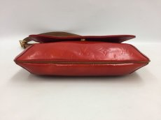 Photo4: Auth LOUIS VUITTON Vernis Red Thompson Street Shoulder bag  9L270130n (4)