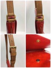 Photo7: Auth LOUIS VUITTON Vernis Red Thompson Street Shoulder bag  9L270130n (7)