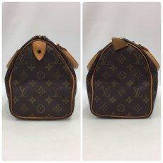 Photo3: Auth Louis Vuitton Monogram Speedy 25 Hand bag Vintage 0A090130n (3)