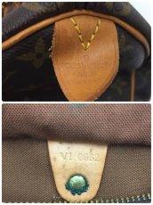 Photo10: Auth Louis Vuitton Monogram Speedy 25 Hand bag Vintage 0A090130n (10)