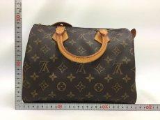 Photo2: Auth Louis Vuitton Monogram Speedy 25 Hand bag Vintage 0A090130n (2)