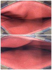 Photo9: Auth Louis Vuitton Damier Ebene Belem PM N51173 Hand bag 0B270190n (9)