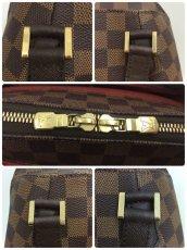 Photo7: Auth Louis Vuitton Damier Ebene Belem PM N51173 Hand bag 0B270190n (7)