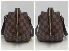 Photo3: Auth Louis Vuitton Damier Ebene Belem PM N51173 Hand bag 0B270190n (3)