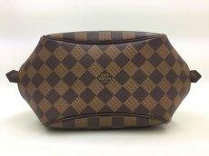 Photo4: Auth Louis Vuitton Damier Ebene Belem PM N51173 Hand bag 0B270190n (4)