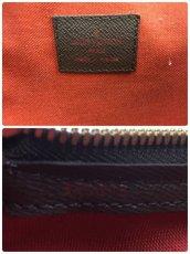 Photo10: Auth Louis Vuitton Damier Ebene Belem PM N51173 Hand bag 0B270190n (10)