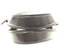 "Photo4: Auth Yves Saint Laurent Patent leather Tote Hand Bag Black Vintage 0C220080n"" (4)"