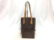 "Photo1: Auth Louis Vuitton Monogram Bucket PM Shoulder bag with pouch 0C220220n"" (1)"