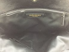 "Photo6: Auth Yves Saint Laurent Patent leather Tote Hand Bag Black Vintage 0C220080n"" (6)"