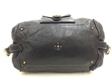 "Photo3: Auth Chloe Paddington Leather Hand bag Black Vintage 0C220050n"" (3)"