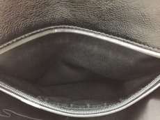 "Photo8: Auth Yves Saint Laurent Patent leather Tote Hand Bag Black Vintage 0C220080n"" (8)"