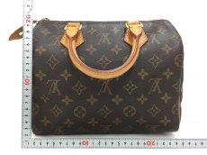 "Photo2: Auth Louis Vuitton Monogram Speedy 25 Hand Bag Vintage 0D020030n"" (2)"