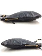 "Photo10: Auth Yves Saint Laurent Patent leather Tote Hand Bag Black Vintage 0C220080n"" (10)"