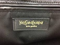 "Photo7: Auth Yves Saint Laurent Patent leather Tote Hand Bag Black Vintage 0C220080n"" (7)"